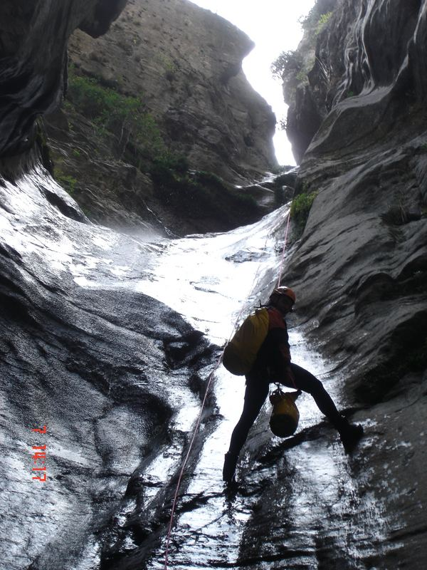 Canyoning am Gardasee - high & wet