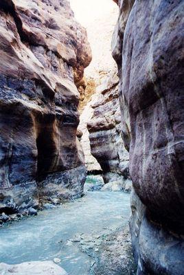 """""""canyoning"""" (Jordanien)"""