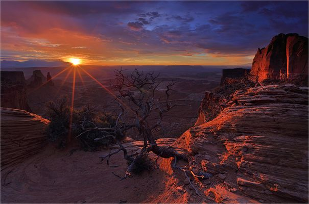 Canyonlands on Fire
