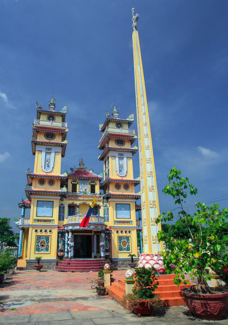 Cao Dai im Mekongdelta