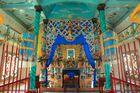 Cao Dai Kirche im Mekongdelta innen
