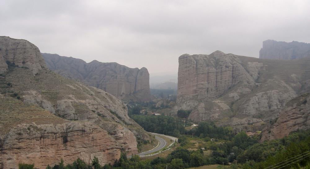 Cañón de la sierra Cebollera
