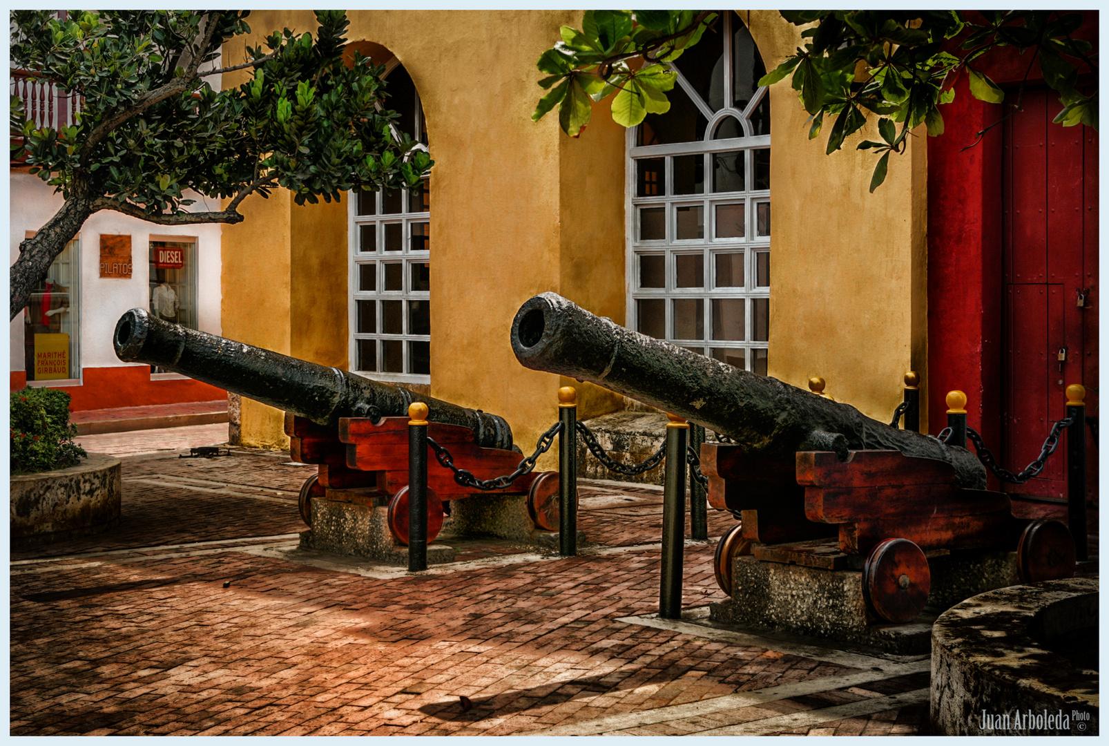 Cañones de Cartagena