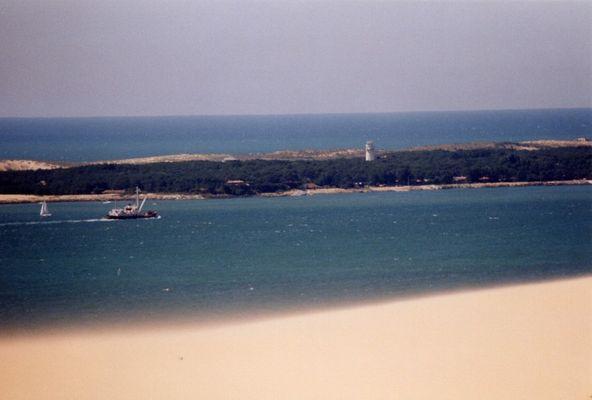 Cap ferret depuis la dune du pilat