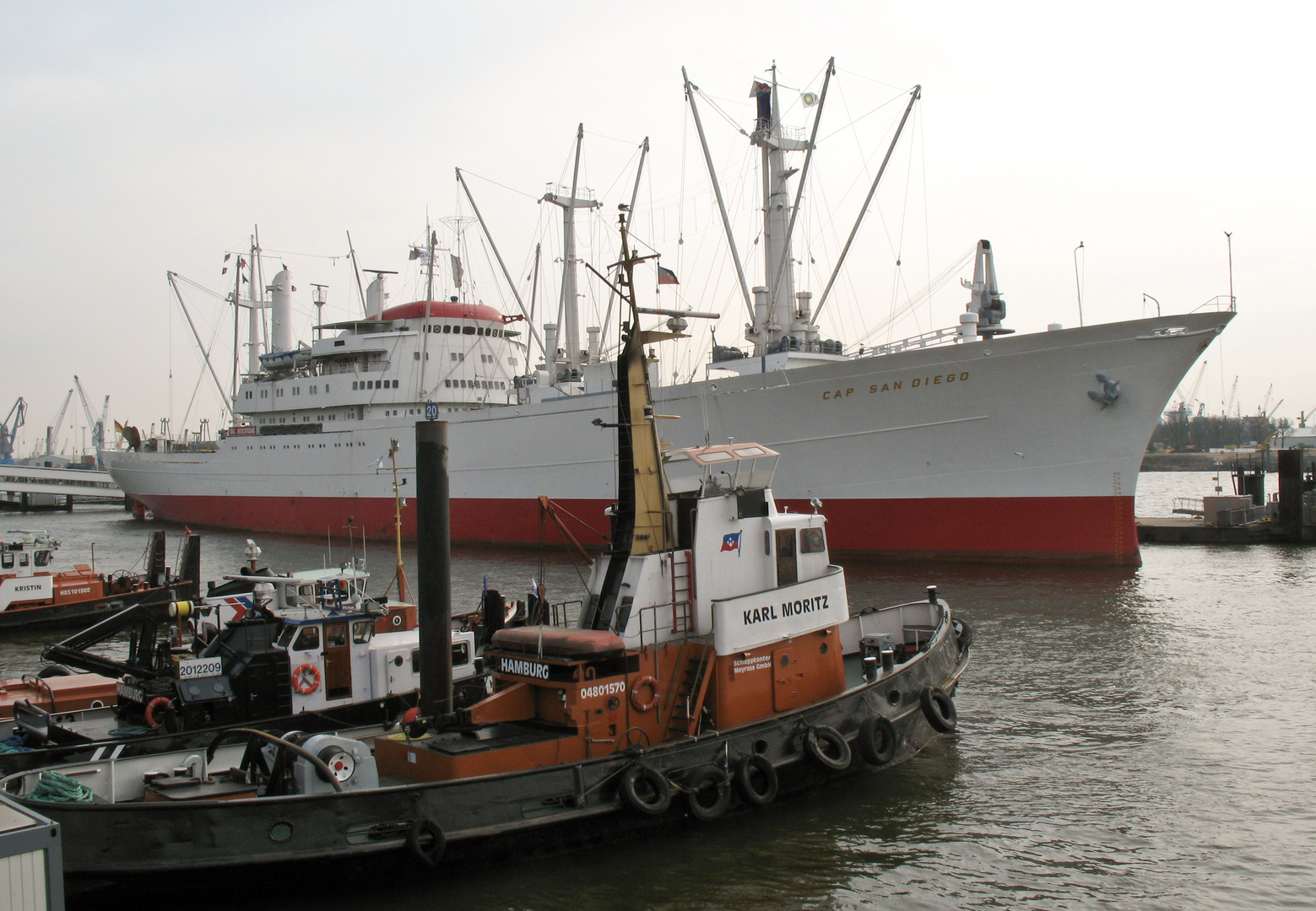 """Cap San Diego"", Hamburg"