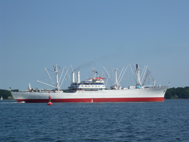 Cap San Diego - Innenförde Kiel