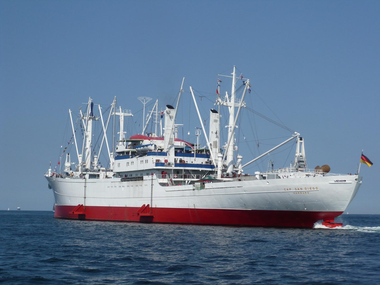 Cap San Diego - Innenförde Kiel III