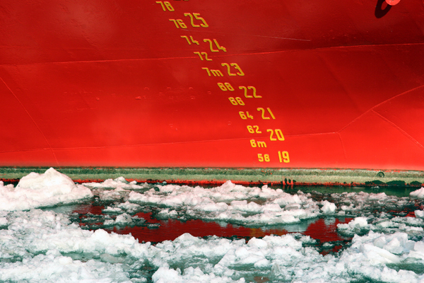 cap san diego on ice