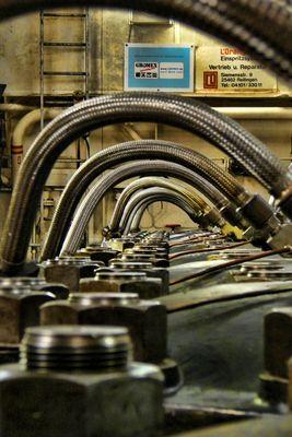Cap San Diego Schiffsmotor