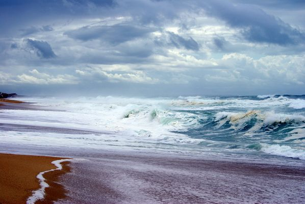 Capbreton grosse mer de septembre