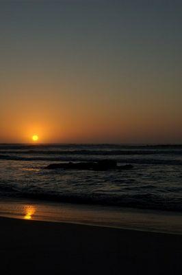 Cape Cross before Sundown