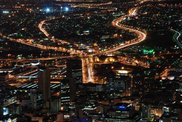 Cape Town bei Nacht