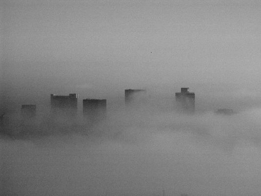 Cape Town CBD under the Clouds