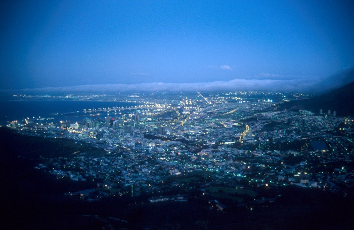 Capetown after Sunset