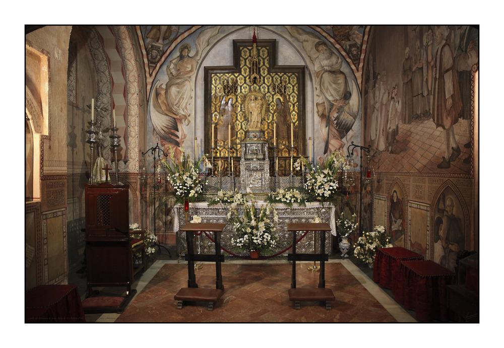 Capilla del Monasterio de Santa María de La Rabida (Palos de la Frontera Huelva Andalucía)