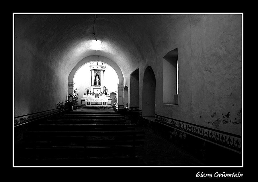 Capilla en la iglesia de Tlayacapan