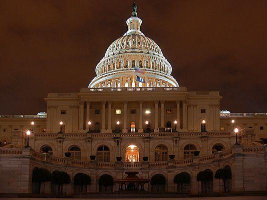 Capitol bei Nacht