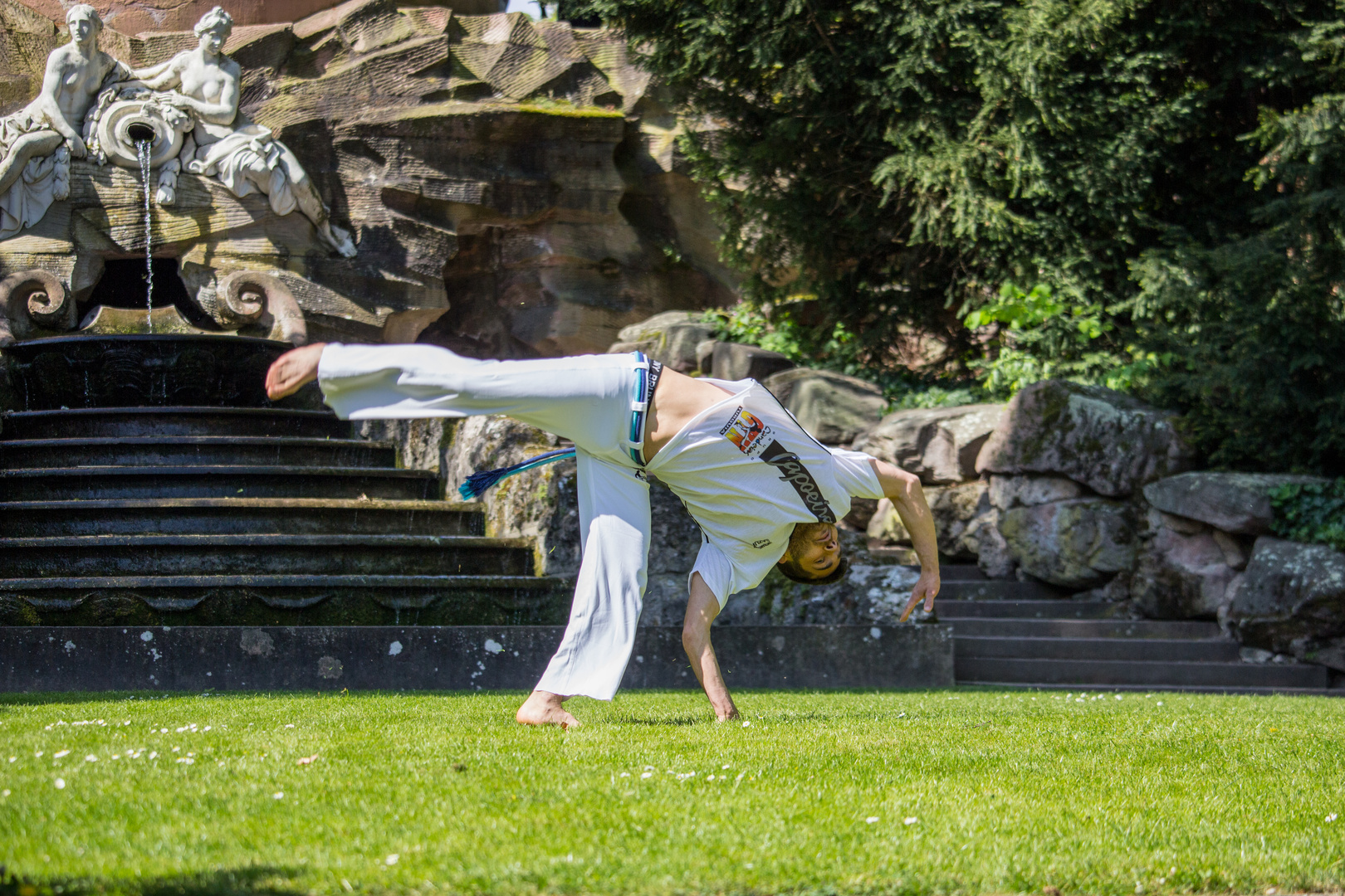 Capoeira beim Training