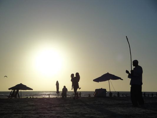 Capoeira beira mar