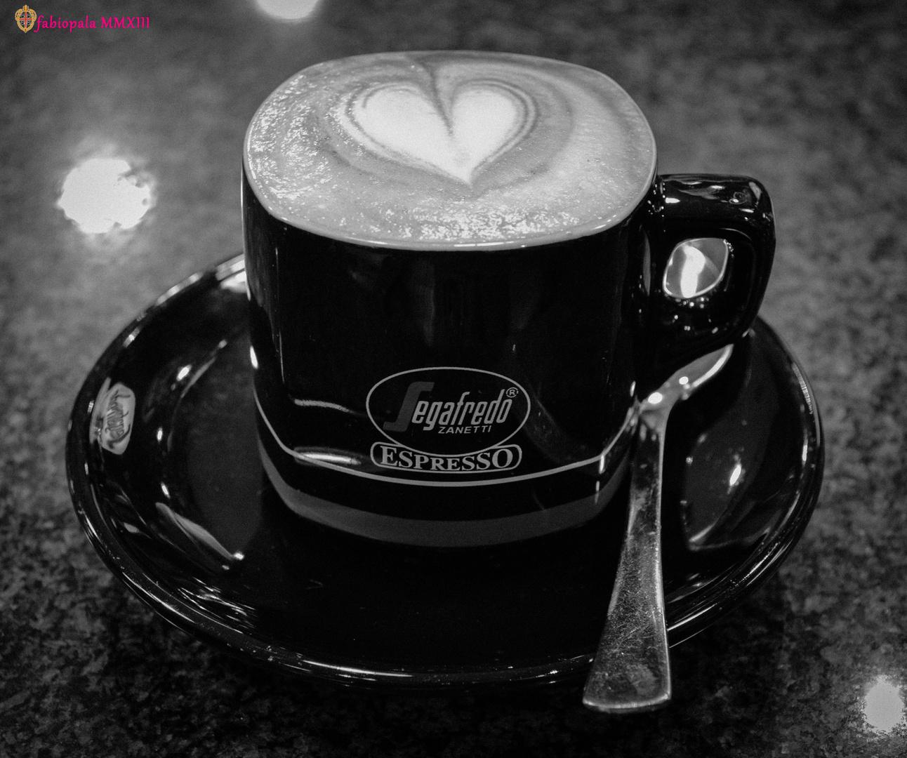 Cappuccino black&white
