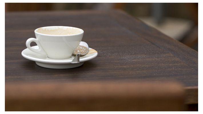 Cappuccino mit Zucker