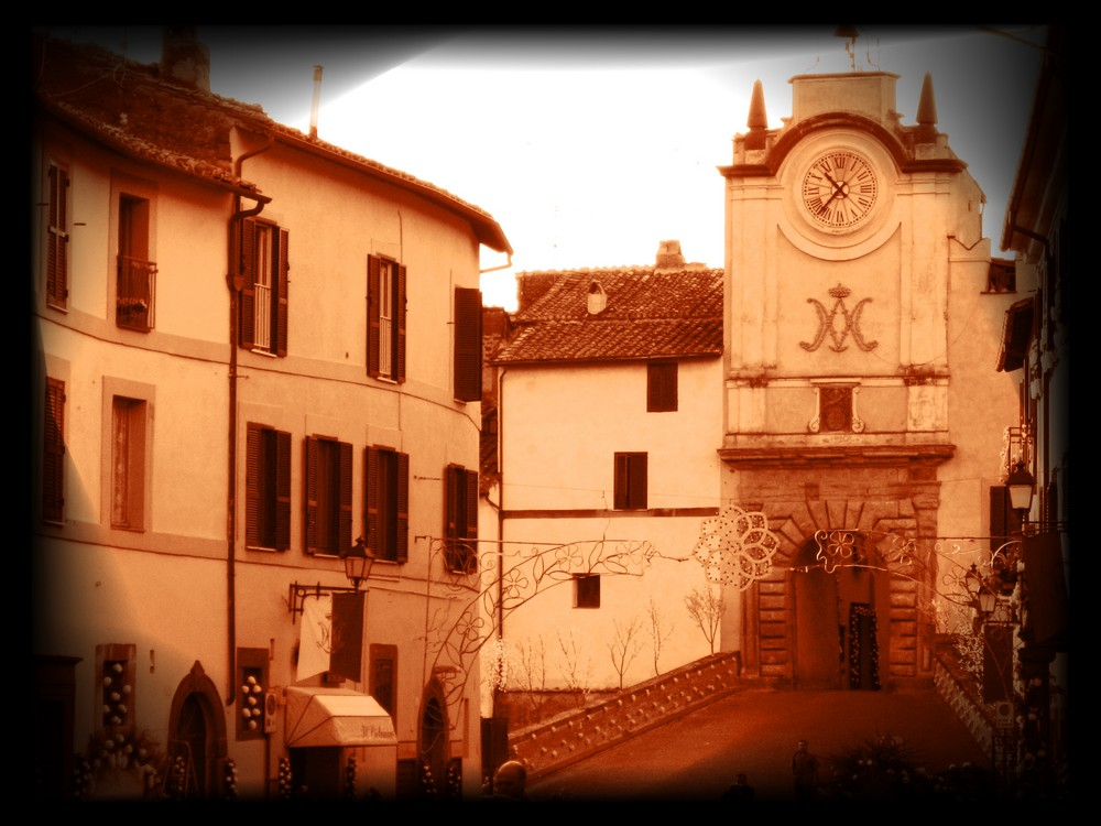 Capranica (Viterbo) - Centro storico