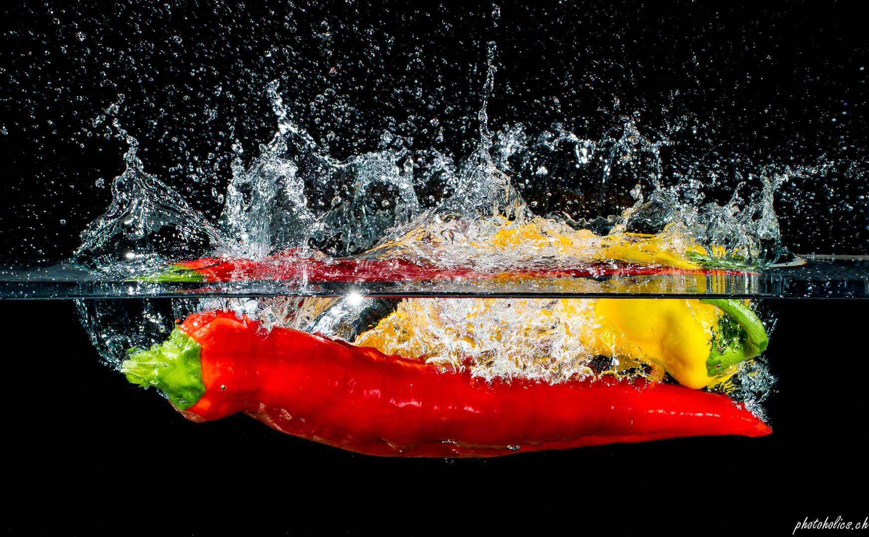Capsicum splish splash