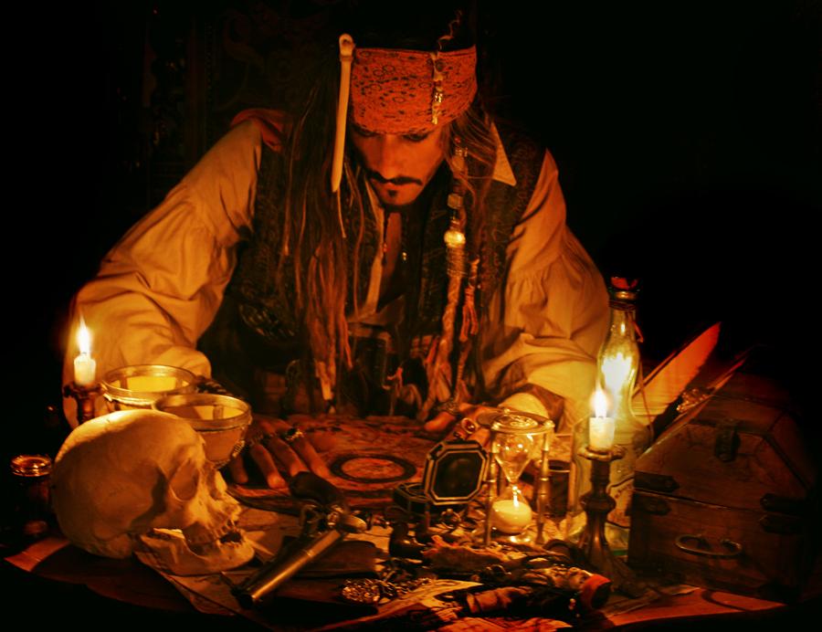 Captain Jack Sparrow Impersonator Double Germany