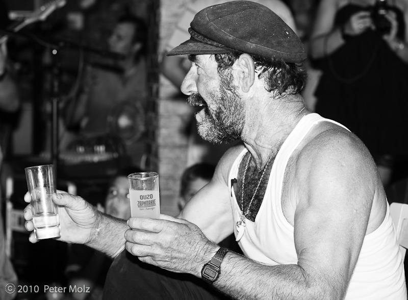 Captain Jiannis: Ouzo, Ouzo! / Samos, Greece,  2010