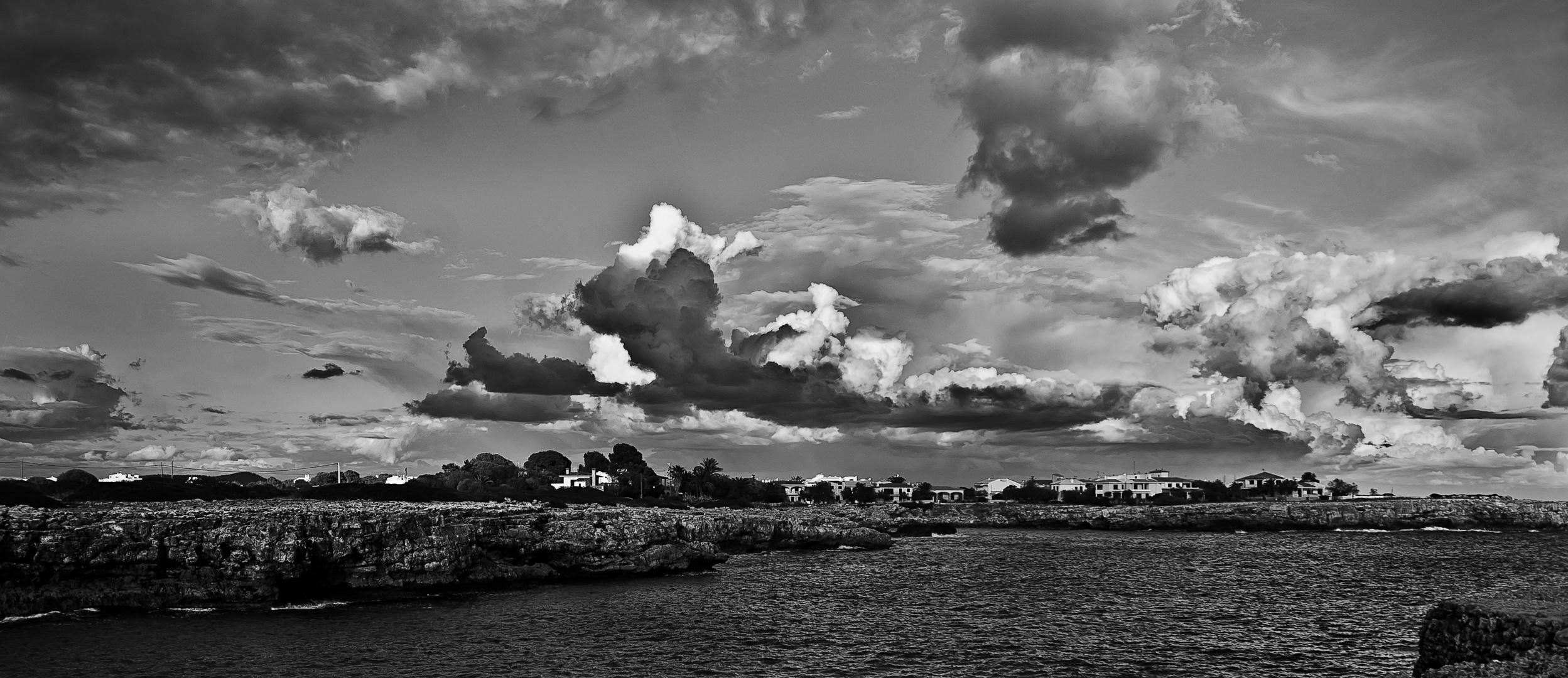 capturando nubes