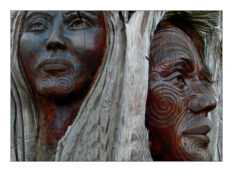 Captured Maori