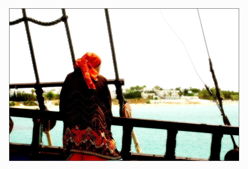 captured on a pirate ship