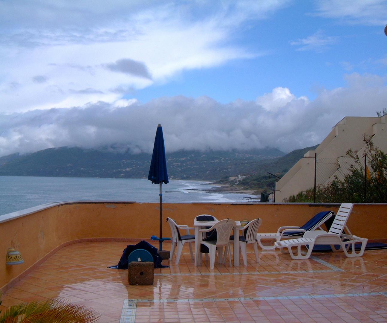 Capu Palinuro, after the Rain