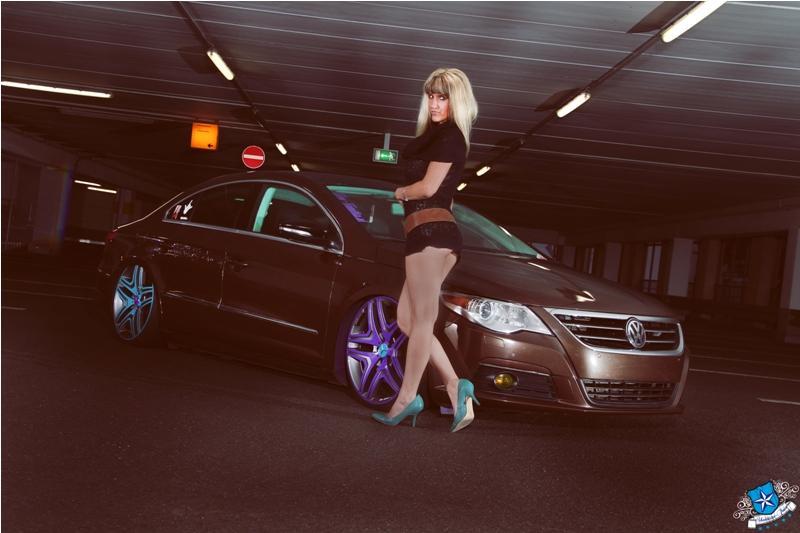 car meets girl