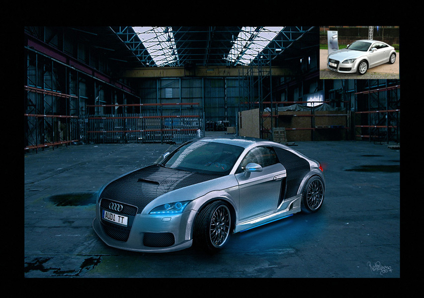 Car Tuning Audi TT