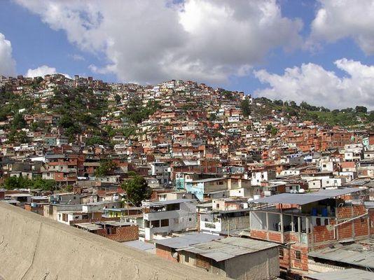 Caracas - die Schattenseite