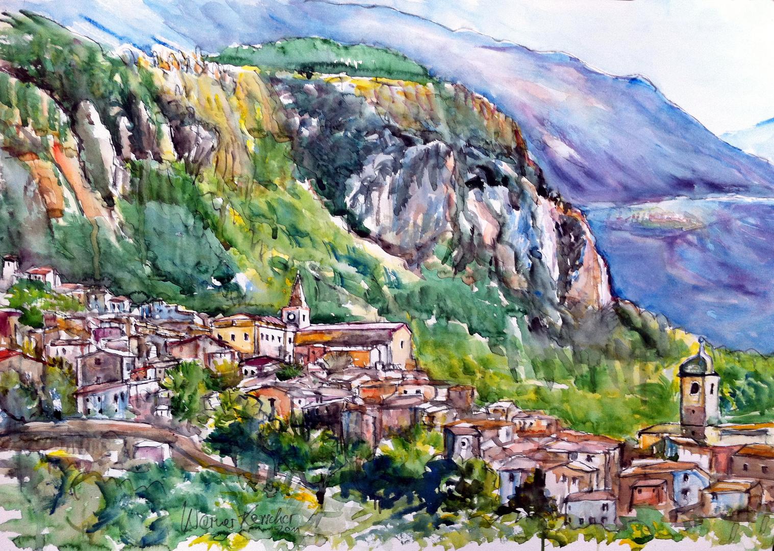 Caramanico Terme - Abruzzen Italy
