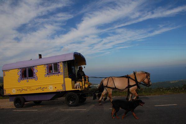 Caravana por España