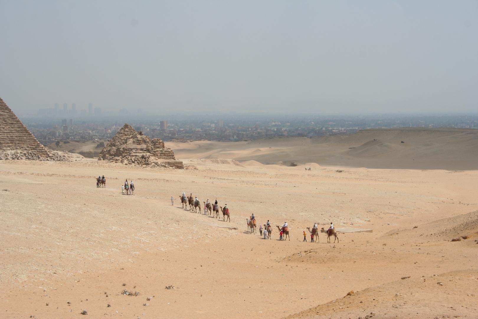Caravane nach Giza