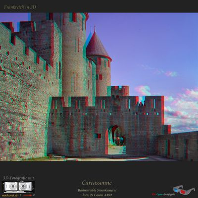 Carcassonne in 3D