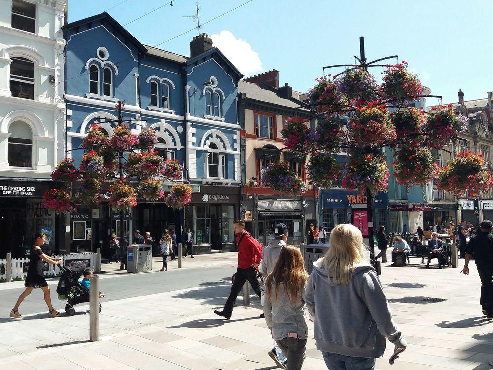 Cardiff..orgogliosa capitale del Galles
