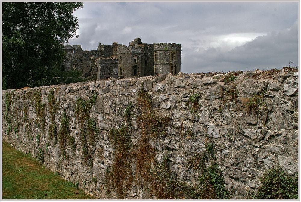 Carew-Castle, Pembrokeshire