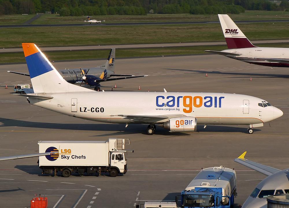 Cargoair Boeing 737-301F ; LZ-CGO