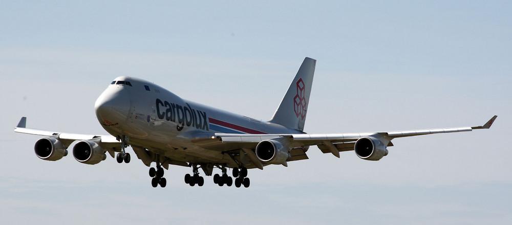 Cargolux im Anflug