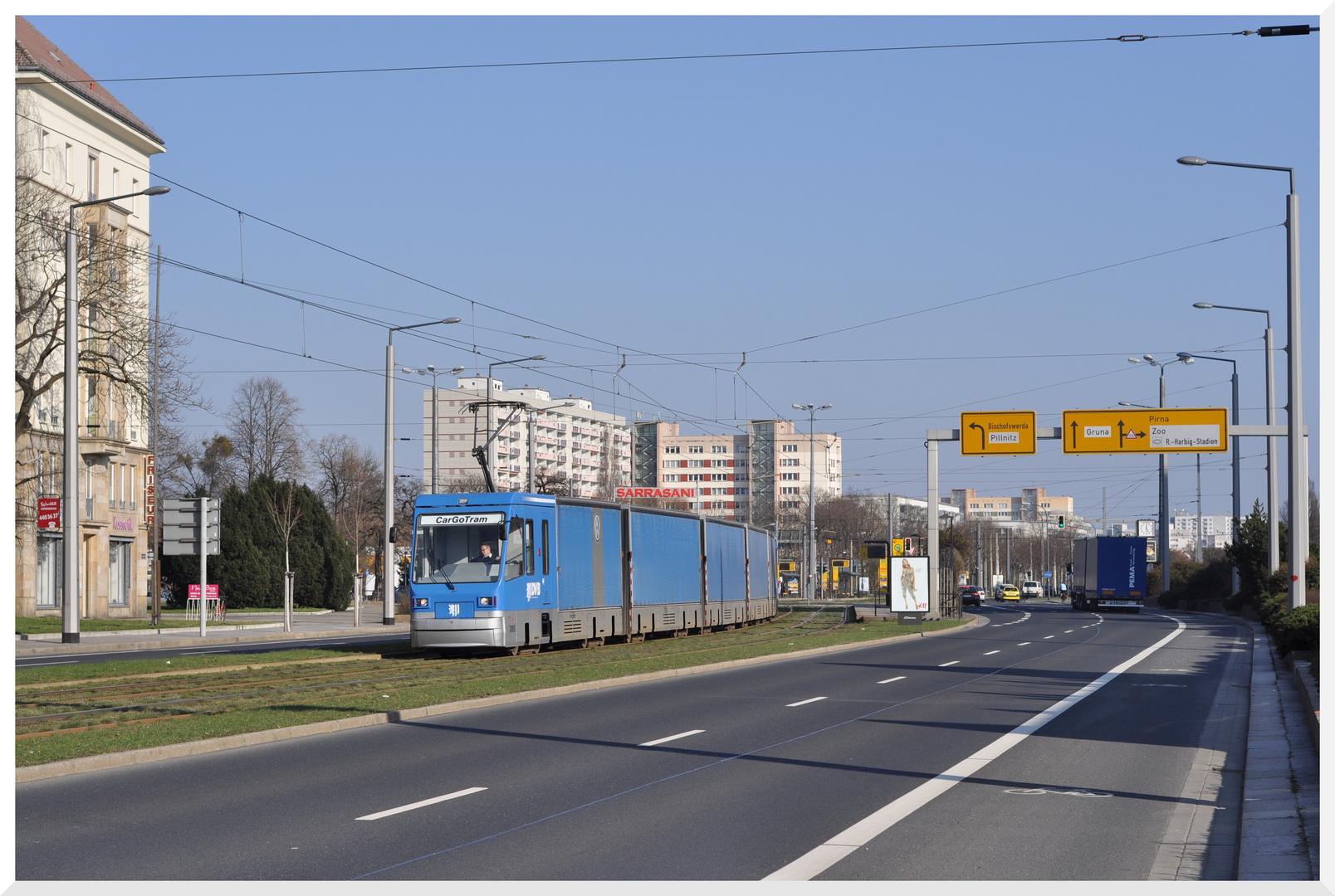 CarGoTram Dresden