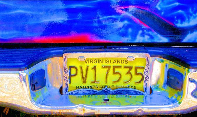 Caribbean Numberplate