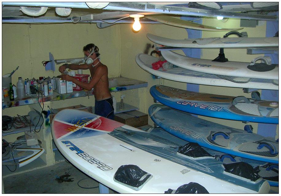 Caribean, Shaping Room