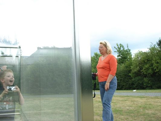 Carina und Max im Skulpturenpark Köln