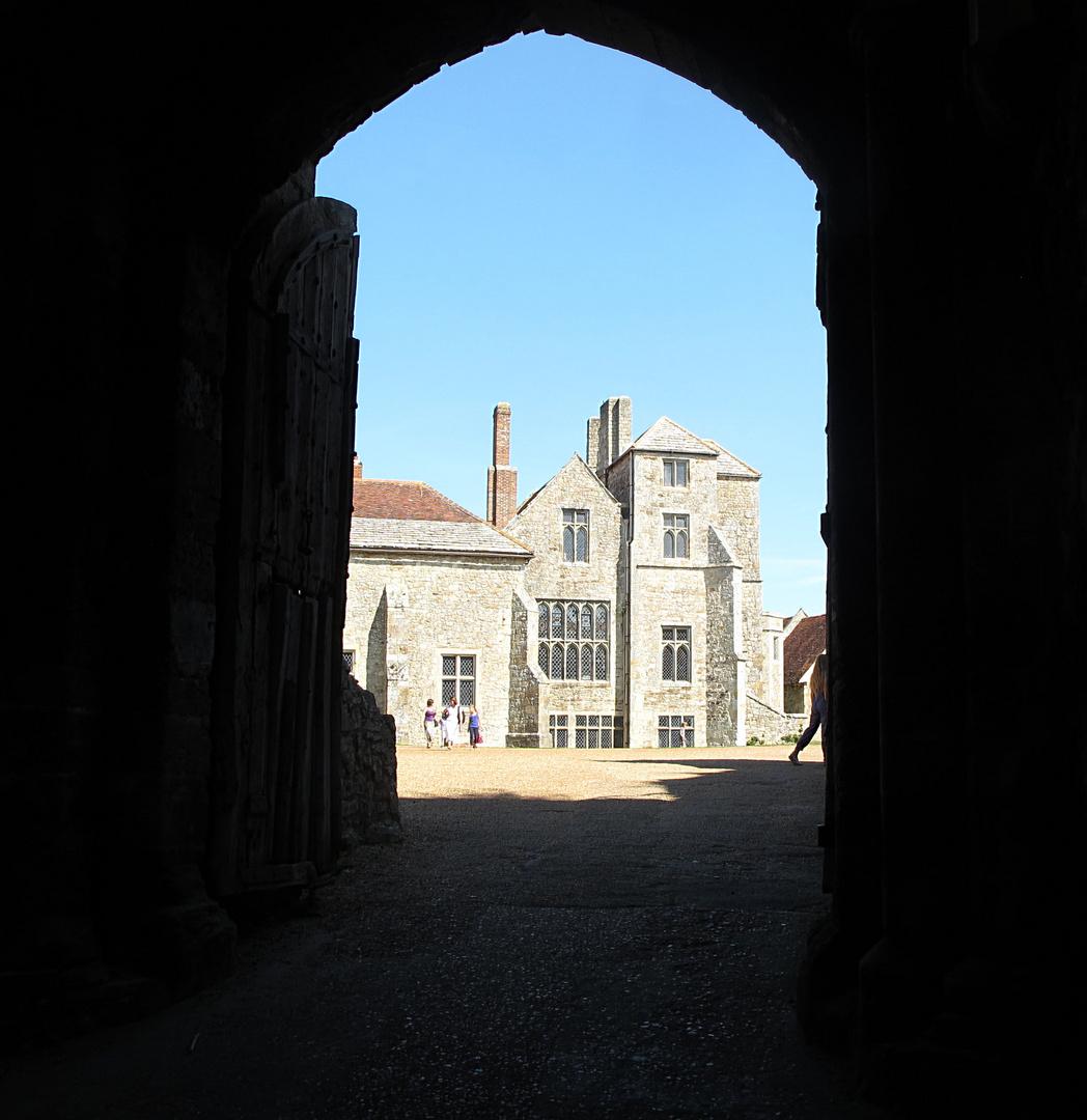 Carisbrooke Castle.