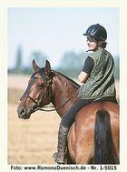 Carmen und ihr spanischer Mustang
